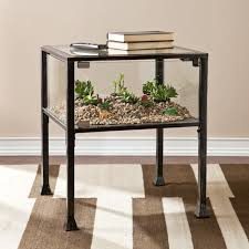 Harper Blvd Display/ Terrarium Side/ End Table - Free Shipping Today -  Overstock.com - 16589304