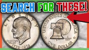 Rare Eisenhower Dollar Coins Worth Money Valuable Silver Dollars