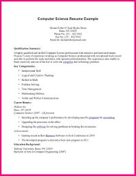 Computer Science Resume Template undergraduate computer science resume 10 Computer  Science Cv