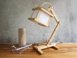 cool desk lamps wood