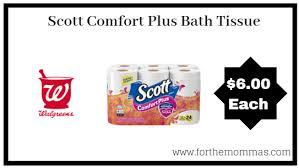 Walgreens Scott Comfort Plus Bath Tissue 24 Rolls Only 6 Starting