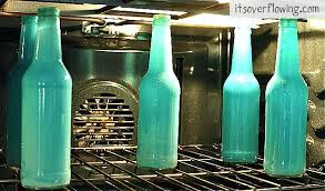 How To Decorate Beer Bottles Simple DIY How to Tint Bottles and Jars Its Overflowing 46