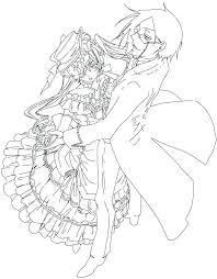 sebastian coloring pages black butler coloring pages the and his lady characters saint sebastian coloring pages sebastian coloring pages