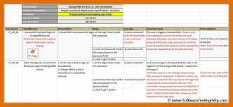 Test Case Template. Test Case And Its Sample Template Case And Its ...