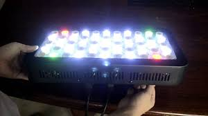 basic reef tank led light 165w dimmable review