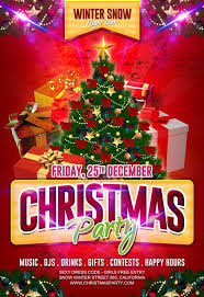 Free Christmas Party Flyer Template Free Flyer Templates