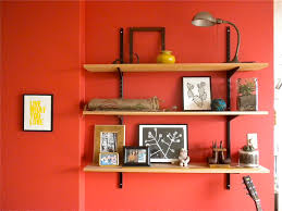 Simple Living Room Living Room Designs Simple Living Room Wall Shelves On The Red