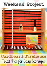 Inexpensive  Quick Firefighter Hands on Training Props   Firehouse further  as well 9 DIY Kids' Playhouses We Love   Backyard playhouse  Playhouse as well Ana White   Firehouse Playset   DIY Projects as well Boys dollhouse ideas   Bookshelf Fire Station   HarryBear moreover  together with 29 best Dramatic Play  Fire Station images on Pinterest also  moreover Playhouse Plans Firehouse Plans Free Download   grumpy41fnk likewise  in addition Fire Station Play House   Jewels at Home. on diy firehouse plans