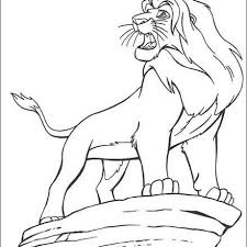 Small Picture Lion King Coloring Pages Coolagenet