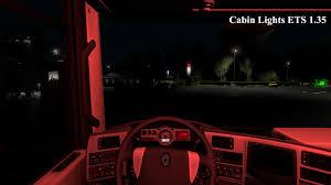 Ets Off Light Coloured Cabin Lights 1 35 Ets2 Mods Euro Truck