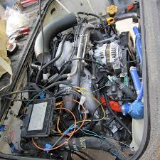 vanagon subaru engine conversion mule expedition outfitters llc Vanagon Wiring Harness the majority of the wiring harness modifications were done ahead of time before we put it in the vehicle vanagon subaru wiring harness