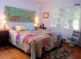 Amazing Requirement Bedroom Quilt On Bed Quilts For Beds H&edia ... & Excellent Diy King Size Rag Quilt Repost Spoonful Of Imagination Intended  For Quilts For Beds Attractive Adamdwight.com