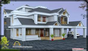 luxury home design elevation 4500 sq ft kerala home