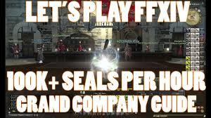 ffxiv 2 45 0468 100k grand company seals in 1 hour guide