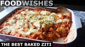 These are some of the things i really want to make in the (near) future! The Best Baked Ziti Food Wishes Youtube