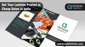 Get Your Leaflets Printed At Cheap Rates In India