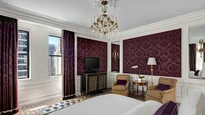 New York City Bedroom Wallpaper Luxury Hotel In New York City The St Regis New York