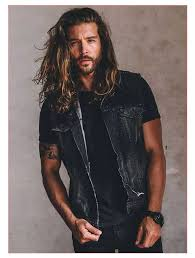 mens hairstyles for thick hair and long face with best long hairstyles for guys