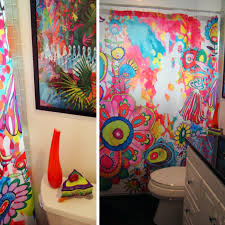 colorful shower curtains. Simple Curtains Colorful Bathroom Shower Curtain For Shower Curtains S