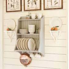 kitchen decor plate racks hanging plates