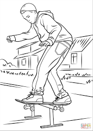 skateboard logo coloring pages