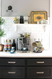 kitchen coffee station kitchen coffee station with sink