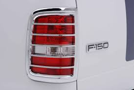 Ford F150 Light Covers Ford F 150 Chrome Tail Light Bezel Cover Trim