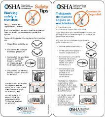 Lookback Reviews Regulatory Review Of Oshas Excavation