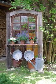 Alte Fenster Altes Fenster Wunderlichekunst Garten Garte