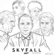 2021 starters vocabulary a4 lw colours 1 grade/level: James Bond Coloring Pages