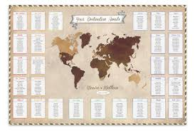 Map Seating Chart Wedding I The Here And There Shop