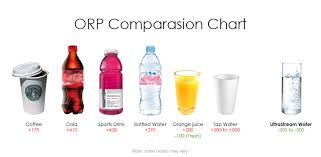 Orp Chart Alkaline Water And Oxidation Reduction Potential Orp