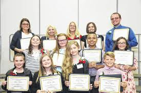 Achievement Awards For Elementary Students Locals Receive Exceptional Achievement Awards The Record Herald