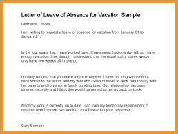 Application For Leave To Manager Leave Letter Format Sample Application Holiday Request Email