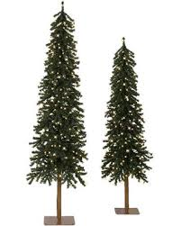 Set of 3 BH Tannenbaum Evergreen Artificial Christmas Tree - Clear