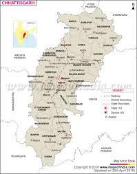 Indian Railway Route Chart Chhattisgarh Rail Network Map
