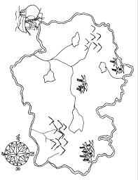 Stampabile Mappa Tesoro Da Colorare Disegni Da Colorare