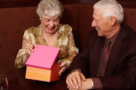 dozens of creative gift ideas for the elderly