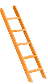 Купить <b>Лестница</b> узкая для спортивного городка Можга <b>Красная</b> ...
