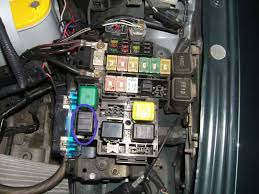 mazda millenia why wont the gauge lights and parking lights 2002 Mazda Miata Fuse Box Diagram the circled relay in this pic graphic 93 Mazda Miata Fuse Box