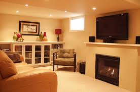 image of modern paint colors for basement ideas