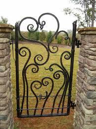 210 best wrought iron d images on custom iron garden gates