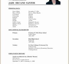 Sample Pdf Resume Sample Of Applicant Resume college application resume sample pdf 45