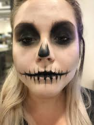 this easy skull makeup tutorial is so simple a numskull could do it exclusive