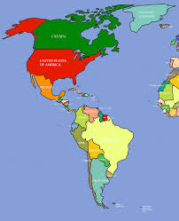 image and the americas map  roundtripticketme