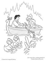Small Picture Download Coloring Pages Little Mermaid Coloring Page The Little