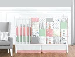 grey nursery bedding set woodsy c mint and grey crib bedding set gray elephant crib bedding set