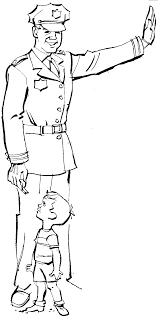 Police Coloring Pages| Coloring pages to print | Color Printing ...