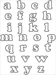 30 Alphabet Bubble Letters Free Alphabet Templates Free