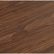 trafficmaster dark walnut 6 in x 36 in luxury vinyl plank flooring 24 sq ft case 60915 the home depot